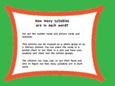 How Many Syllables? A Great Game for the Primary Classroom