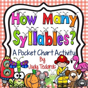 How Many Syllables? (A Pocket Chart Activity)