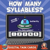 How Many Syllables? Digital Boom Task Cards