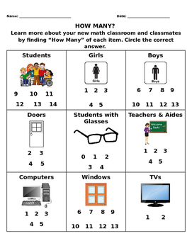 How Many? Thinking about numbers in the classroom
