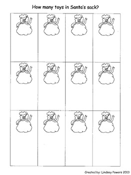 How Many Toys in Santa's Sack? - Christmas Math for Kindergarten