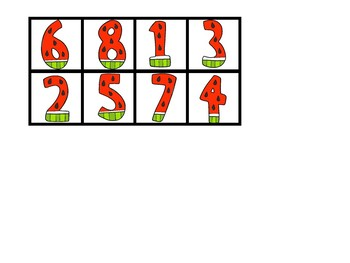 How Many Watermelons Do You See? - Counting Book (1-8)