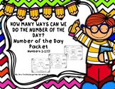 How Many Ways Can We Do The Number Of The Day