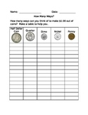 How Many Ways Can You Make $1.00