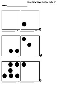 How Many Ways Can You Make 9?