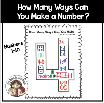 How Many Ways Can You Make... Numbers 1-10