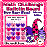 CRITICAL THINKING MATH CHALLENGE: How Many Ways? -- February Edition