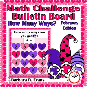 CRITICAL THINKING MATH CHALLENGE: How Many Ways? -- Februa