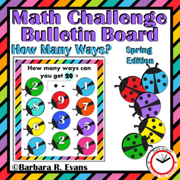 SPRING: Spring Activities, Spring Math, Spring Bulletin Board, Critical Thinking