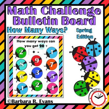 SPRING: Spring Activities, Spring Math, Spring Bulletin Board, Critical Thinking