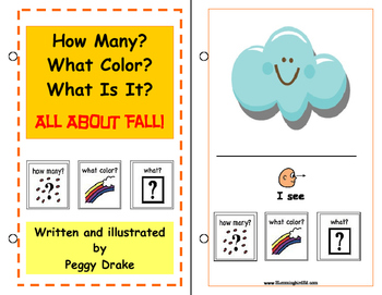 How Many? What Color? What Is It? Adaptive Book