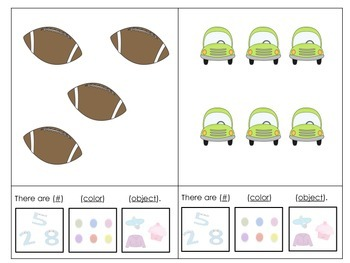 How Many? What Color? What Is It?: Adapted Book for Students with Autism