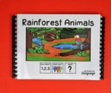 How Many, What Color, What? Rainforest Theme