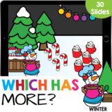How Many? Which Has More Kindergarten Math Google Slides