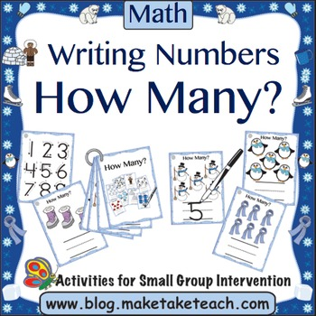 How Many?  Winter Themed Counting Activity