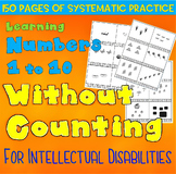 How Many Without Counting: Sight Seeing 1-10 for Intellectual Disabilities
