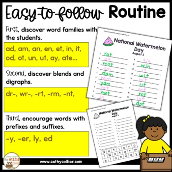 How Many Words Can You Make?  A Year of Holidays and Events