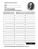 Presidents Day FREE - George Washington - How Many Words Can You Make?