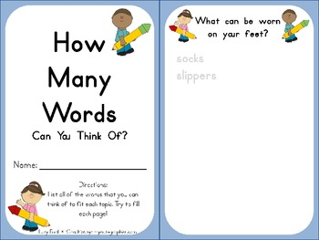 How Many Words Can You Think Of?