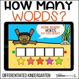How Many Words Do You Hear? Pre-Writing Activity