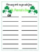 How Many Words? - St. Patrick's Day Themed