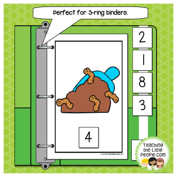 How Many Worms in the Dirt: A Counting to 10 Interactive Book