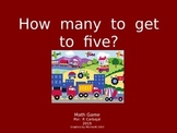 How Many to Get to Five?