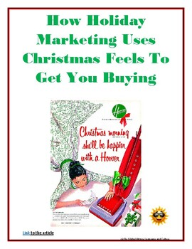 How Marketers Use Christmas to Make you Buy More  - Reading Guide