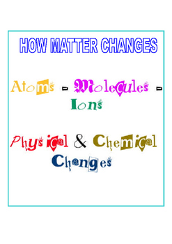 How Matter Changes
