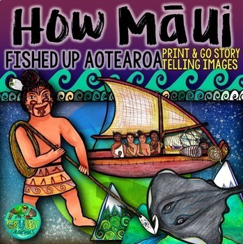 How Maui pulled up New Zealand {Storytelling Images}