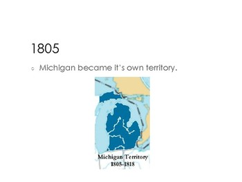 How Michigan Became a State