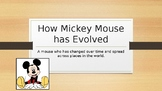 How Mickey Mouse has evolved over time