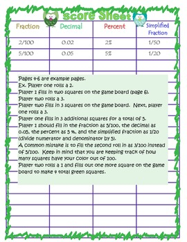 How Much? - converting fractions, decimal, and percents