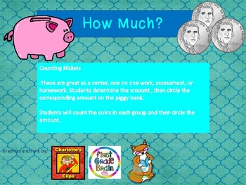 How Much?  Counting Nickels