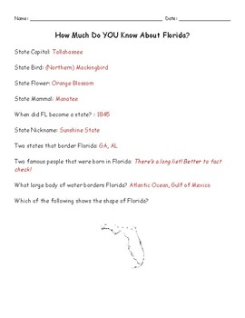 How Much Do YOU Know About Florida?