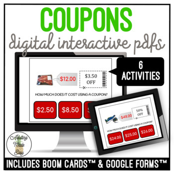 How Much Does It Cost With Coupons? Digital Activity