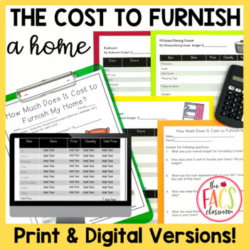 Financial Literacy: How Much Does It Cost to Furnish My Home