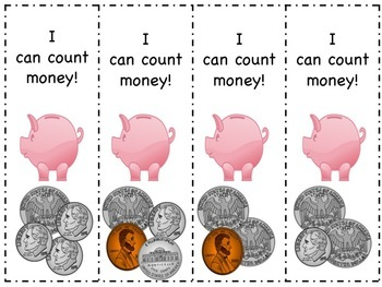 Money - How Much Does That Piggy Have?  Counting Change to $1 -  2.MD.8