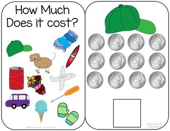 How Much Does it Cost? Interactive Money Book!