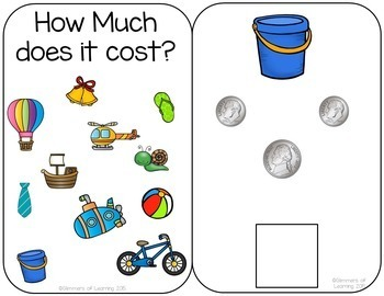 How Much Does it Cost? Interactive Money Book