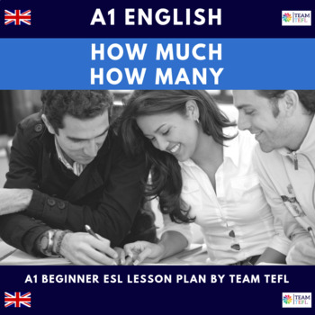 How Much - How Many A1 Beginner Lesson Plan For ESL