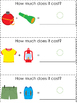 How Much Is It? An Adapted Book for Money Math using Camping Supplies