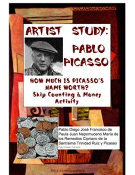 How Much Is Picasso's Name Worth? Coin Combination Activity