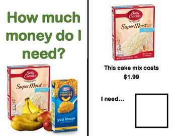 How Much Money Adapted Book