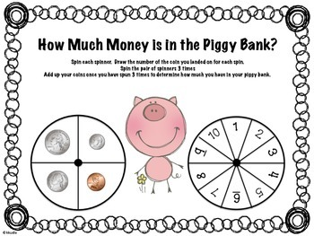 How Much Money is in the Piggy Bank? Counting Coins