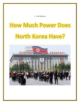 (ASIA GEOGRAPHY) How Much Power Does North Korea Have?—Video Guide