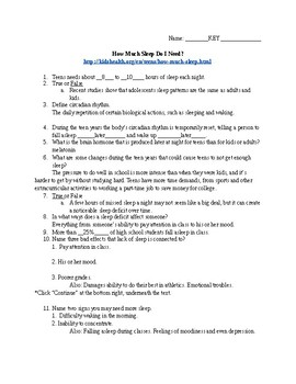 How Much Sleep Do I Need Article Guide
