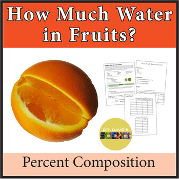 How Much Water in Fruits?