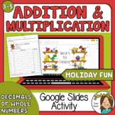 How Much Would that Cost? The 12 Days of Christmas Math Google Slides Activity