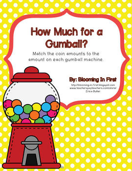 How Much for a Gumball?  Freebie